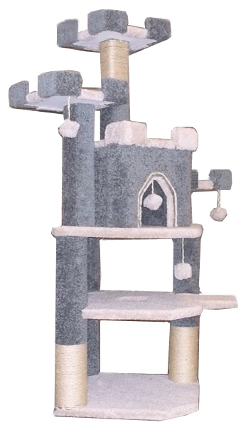 Cat Condo Castle  Tree Tower Scratching Post
