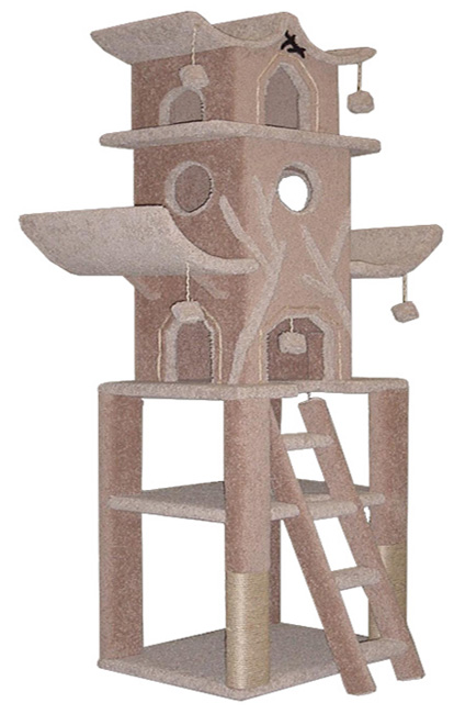 Buy cat trees cat condos cat furniture at wholesale prices for Pictures of cat trees