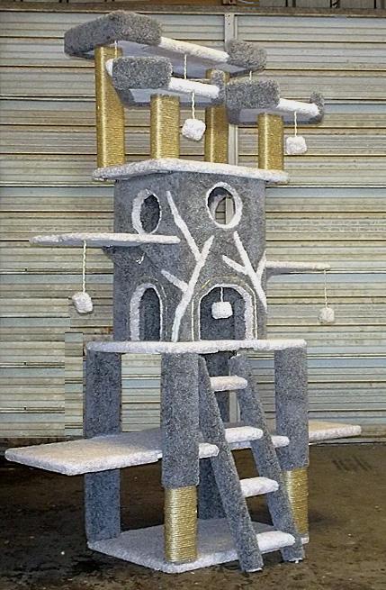 Custom Cat Trees Playtimeworkshop